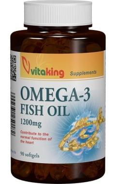 Omega 3 din Ulei de Peste Vitaking 1200mg - 90cps