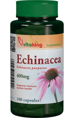 Echinacea (Echinacea purpurea) Vitaking 400mg - 100cps