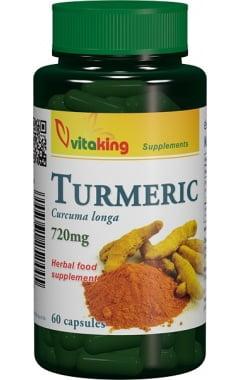 Curcuma (Curcuma longa) Vitaking 720mg - 60cps