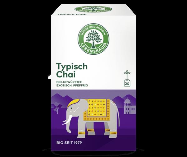 Ceai codimentat CHAI TYPIC, Ecologic Bio Lebensbaum - 20 plicuri x 2g