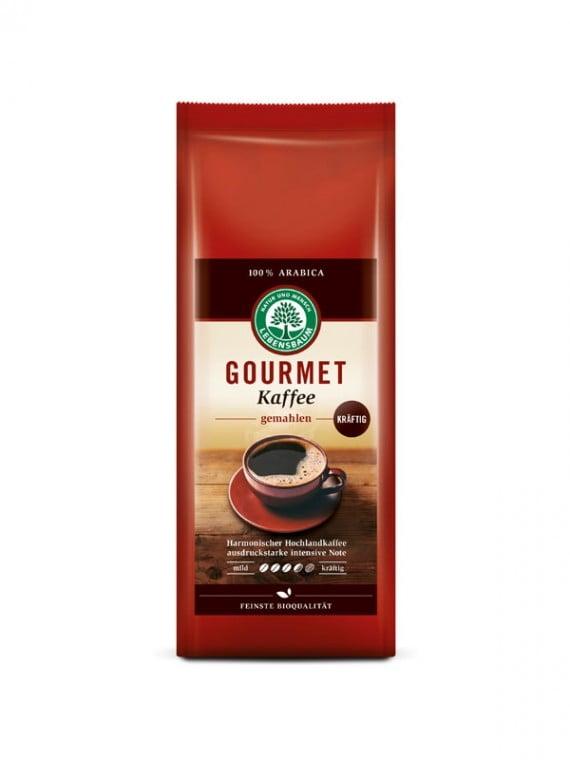 Cafea macinata STRONG GOURMET BIO - LEBENSBAUM - 500g. Poza 5943