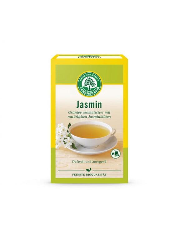 Ceai Verde cu Flori de Iasomie BIO - LEBENSBAUM - 20plicuri x1,5g. Poza 5999