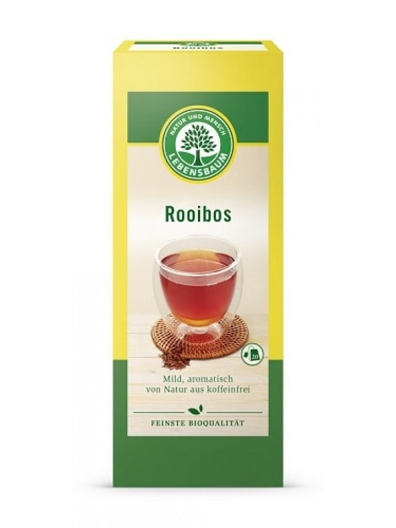 Ceai African Rooibos Condimentat BIO - LEBENSBAUM - 20plicuri x1,5g. Poza 6000