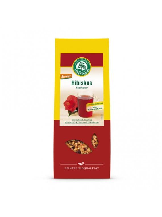 Ceai din Flori de Hibiscus BIO - LEBENSBAUM - 50g. Poza 6003