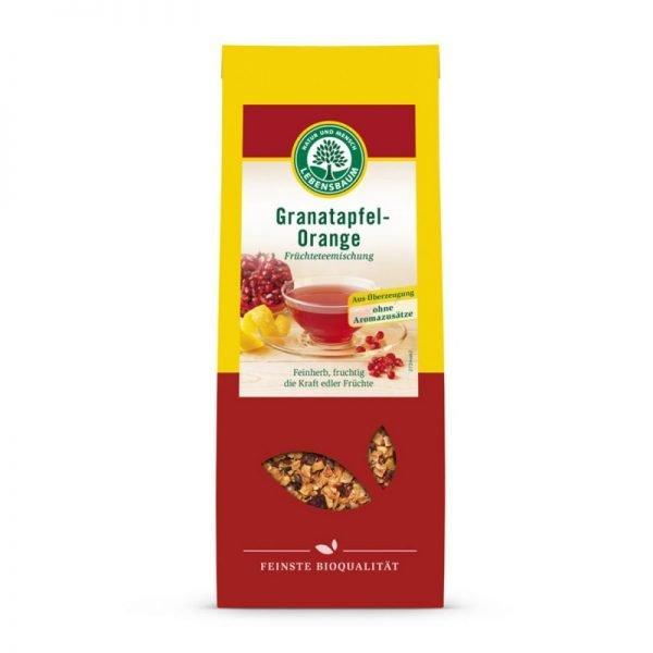 Ceai din Rodie si Portocale BIO - LEBENSBAUM - 75g. Poza 6005