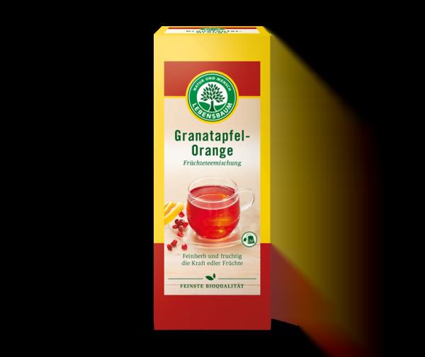 Plicuri cu Ceai de Rodii si Portocale BIO - LEBENSBAUM - 15x2,5g. Poza 6009
