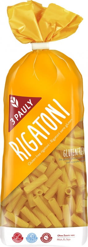 Rigatoni din Porumb Fara Gluten - 3 PAULY - 500g. Poza 6027