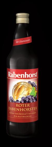 Suc de Struguri Rosii Bio - RABENHORST - 750ml. Poza 6088