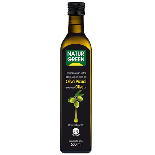 Ulei Extra-virgin de Masline Picual Raw Food Bio - NaturGreen - 500ml. Poza 6106