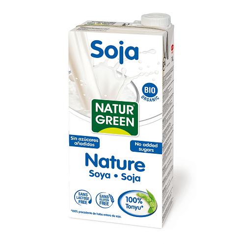 Lapte 100% din Soia Japoneza Tonyu BIO NaturGreen - cutie 1000ml