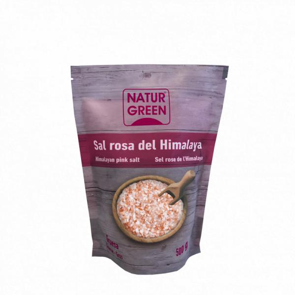 Sare roz de Himalaya NaturGreen - Cristale - 500g