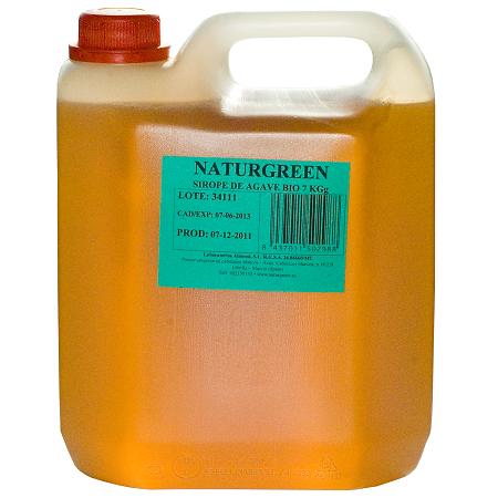 Indulcitor Sirop de Agave cu Indice Glicemic Scazut Bio - NaturGreen - 7kg