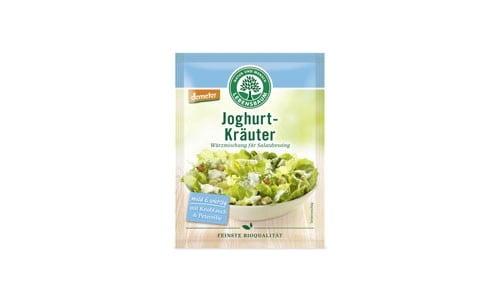 Amestec de Ierburi Aromatice pentru Dressing-uri de Salata cu Iaurt, Ecologic BIO Lebensbaum - 15 g. Poza 6273