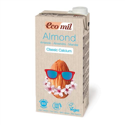 Bautura de Migdale Classic imbogatita cu Calciu Marin Organic, Ecologica BIO EcoMil– cutie 1 L.. Poza 6305