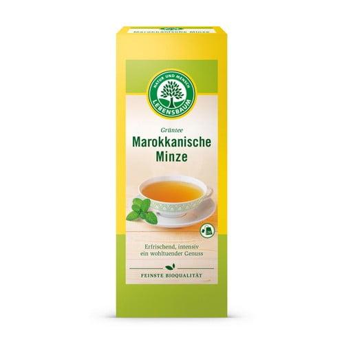 Ceai Verde si Menta Marocana, Ecologic BIO LEBENSBAUMN– 20 plicuri x2g. Poza 6342