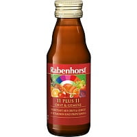 Suc 11 Fructe si Legume +11 Vitamine RABENHORST – 125 ml. Poza 6452