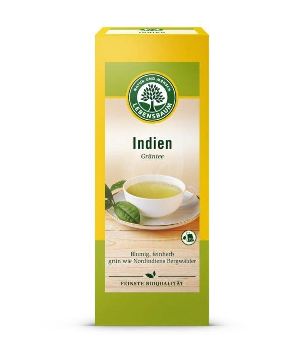 Ceai Verde INDIEN, Ecologic BIO LEBENSBAUM - 20 plicuri x1,5g. Poza 6482
