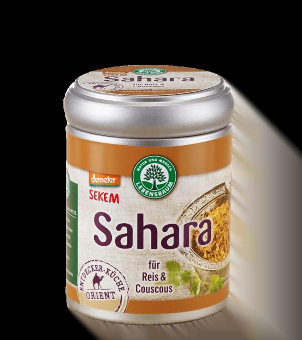 Amestec de condiment in stil oriental SAHARA - pentru orez si cuscus, BIO LEBENSBAUM - cutie 65 g. Poza 6522