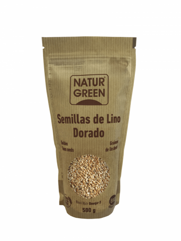 Seminte de In Auriu, ecologice - Bio NaturGreen - 500g. Poza 6628