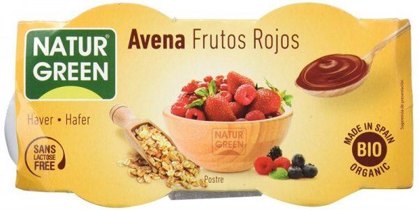 Desert din Ovaz si Fructe Rosii - Bio NaturGreen - 250 g. Poza 6717