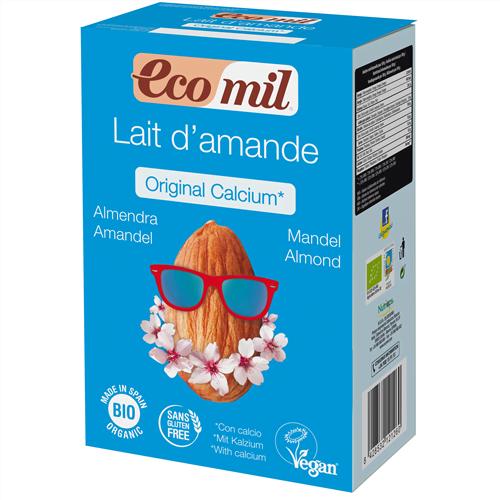 Lapte Praf din Migdale cu Calciu Marin Organic BIO EcoMil - 400g. Poza 6724