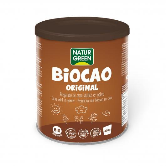 Bautura de Cacao Instant BIOCAO Bio - NaturGreen - 400g. Poza 6742