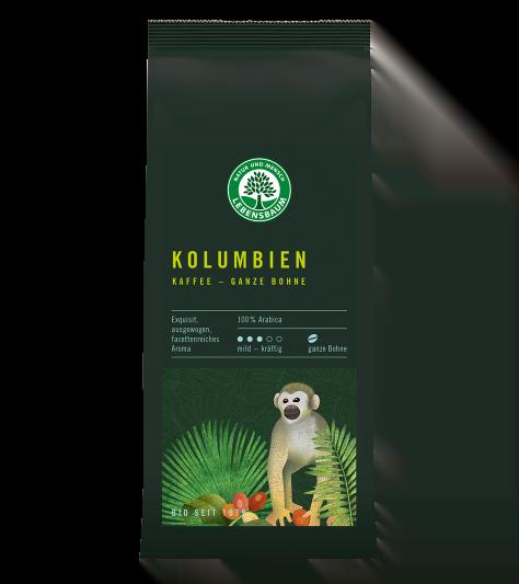 Cafea macinata KOLUMBIEN KAFFE, Ecologic Bio Lebensbaum - 250 g. Poza 6804